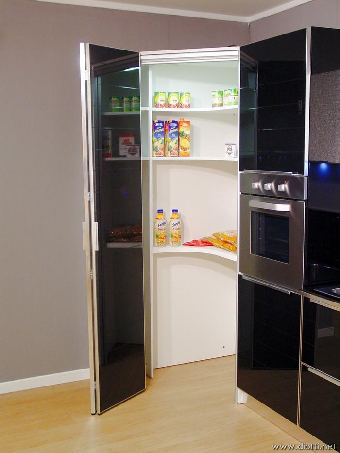 Cucina in vetro temperato System  DIOTTI AF Arredamenti