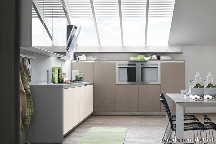 Cucine A Muro Moderne - Idee per la progettazione di ...