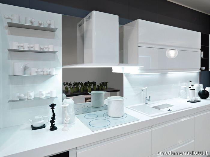 Zerocinque cucina maniglia pantografata  DIOTTI AF Arredamenti