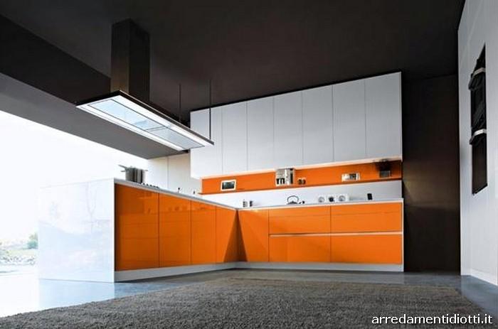 Cucina Snaidero Orange laccata in 28 colori  DIOTTI AF