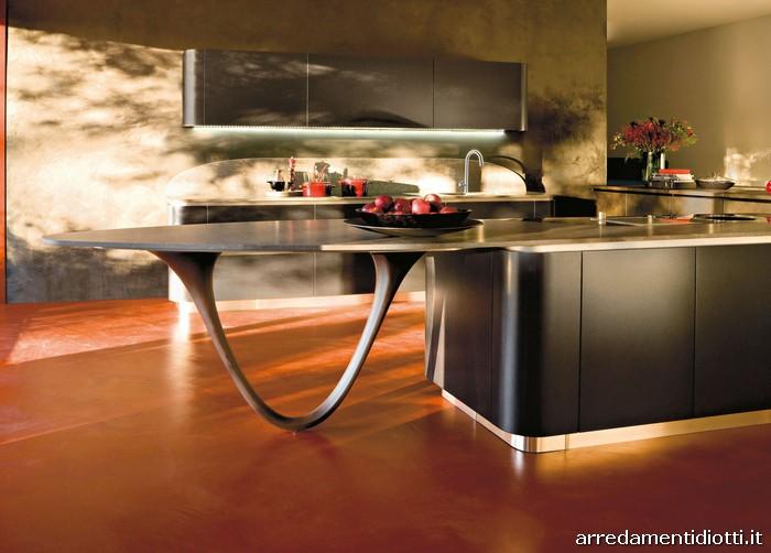 Cucina Ola 20 di Snaidero Cucine con design Pininfarina
