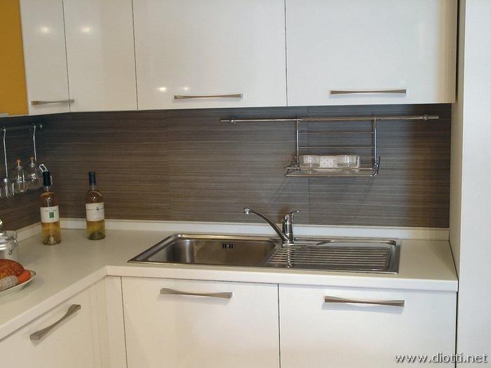 Dream cucina in laminato bianco lucido  DIOTTI AF
