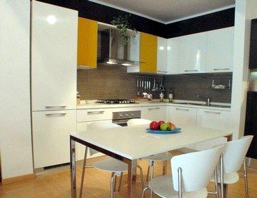 Dream cucina in laminato bianco lucido  DIOTTI AF Arredamenti