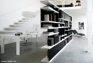 La Libreria Bifacciale! | Archi mutuo casa Design Architettura