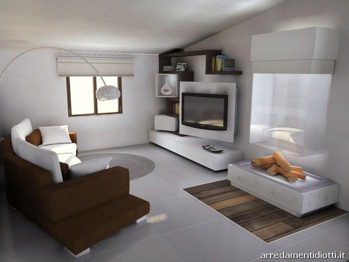 Cucina Soggiorno Con Arco - Idee per la progettazione di ...