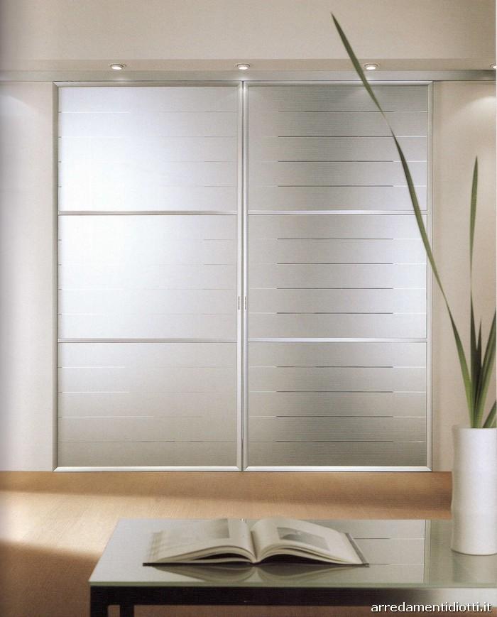 Porte scorrevoli in alluminio Atlantic  DIOTTI AF Arredamenti
