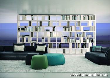 Libreria My Space bifacciale divisorio  DIOTTI AF