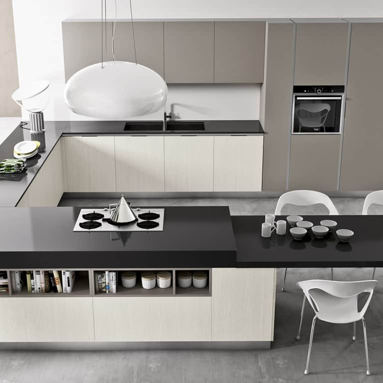 Cucine angolari moderne a Padova