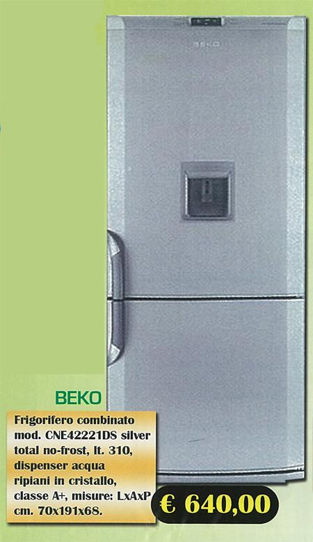 Elettrodomestici  Frigorifero Beko silver