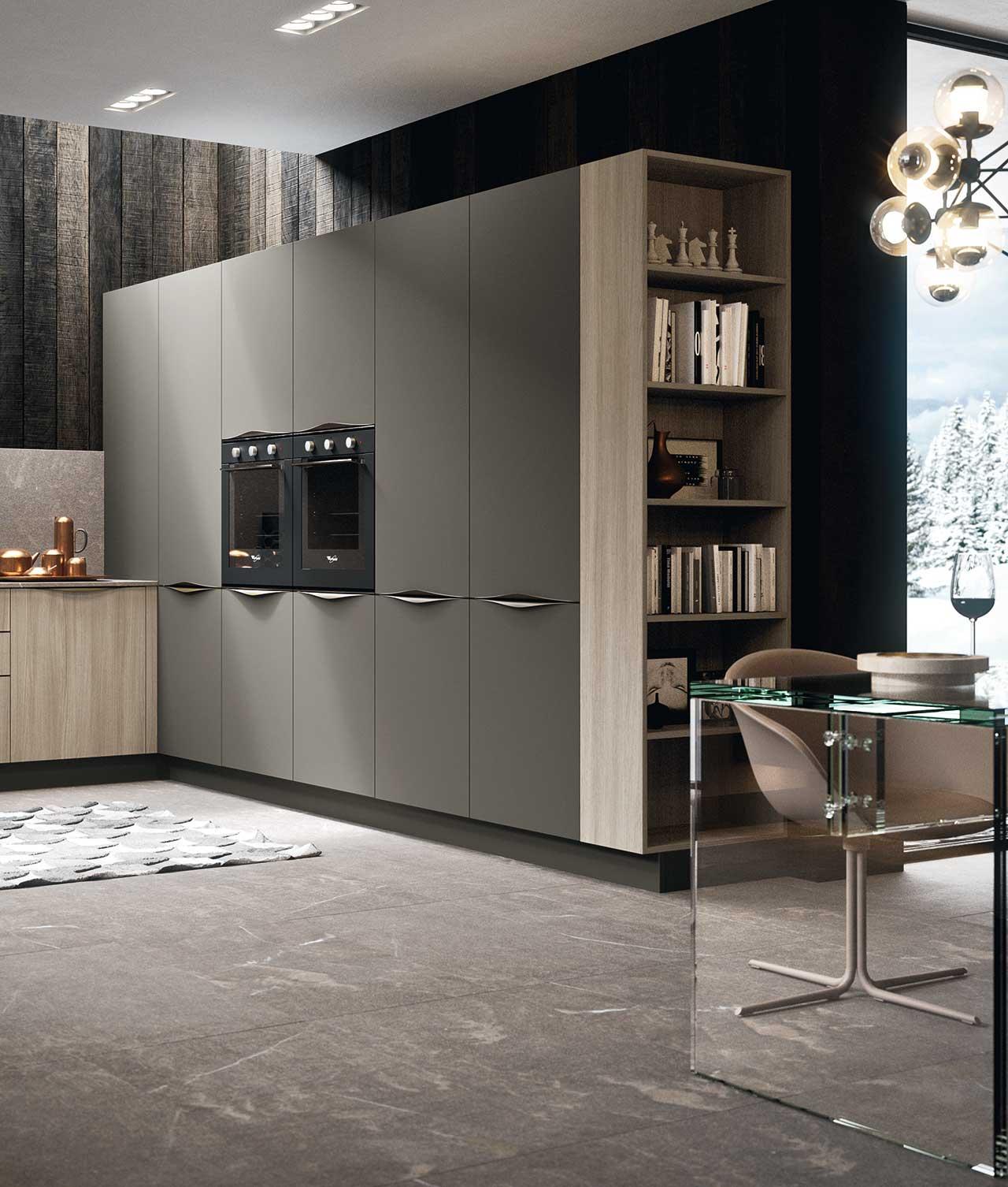 cucina_linear_10_antares_ composizione 4_ colonne cucina