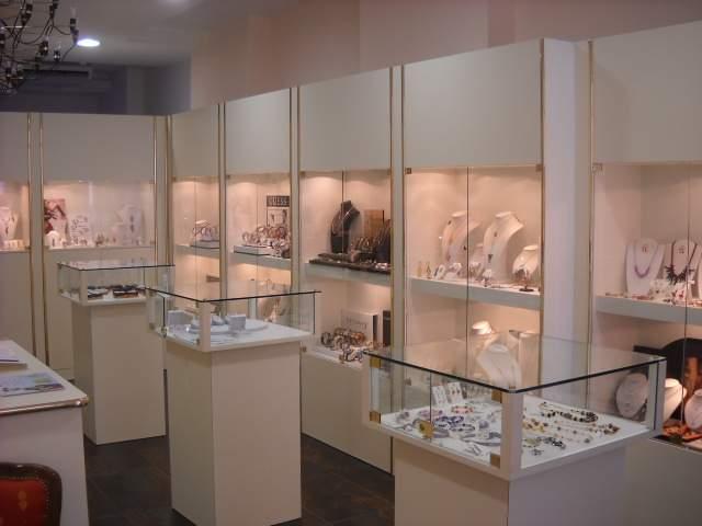 Arredamenti per Gioiellerie COMPRA in FABBRICA a Met Prezzo Vetrine per Oreficerie