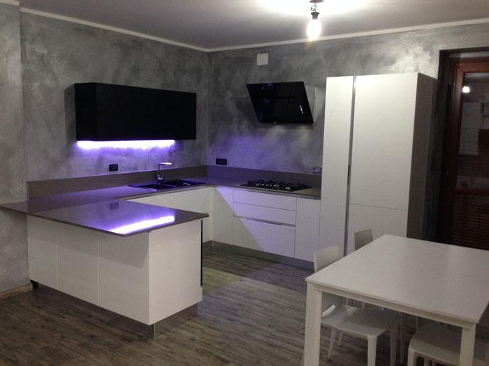 Arrex Anice una cucina moderna con bancone penisola