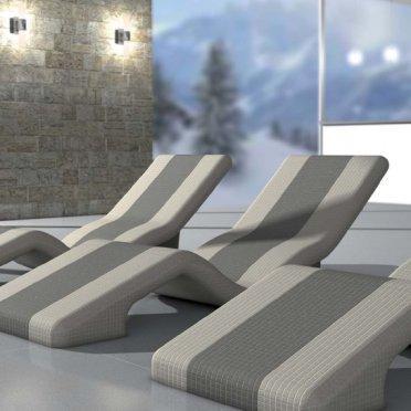 lettini relax per centro benessere