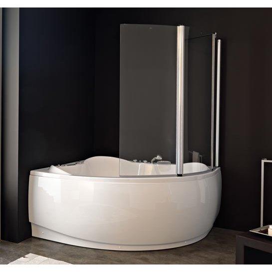paretina doccia per vasca angolare
