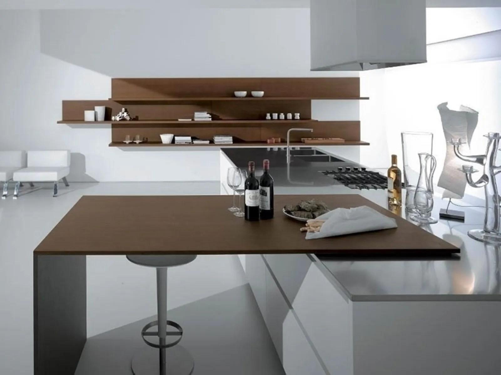 Angolo cottura lessenza della cucina in open space  Consigli Cucine