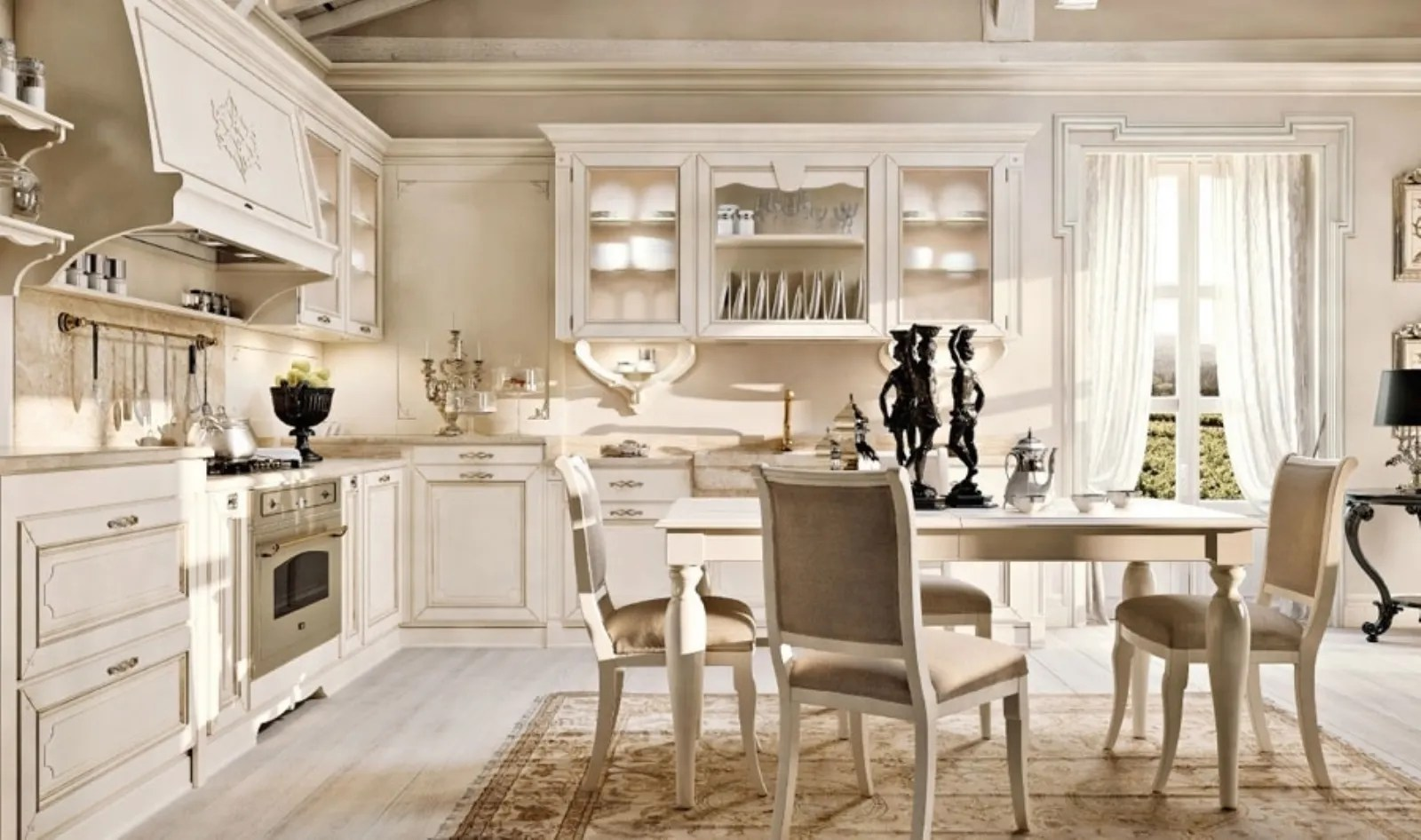 Cucine country bianche  Cucine Country