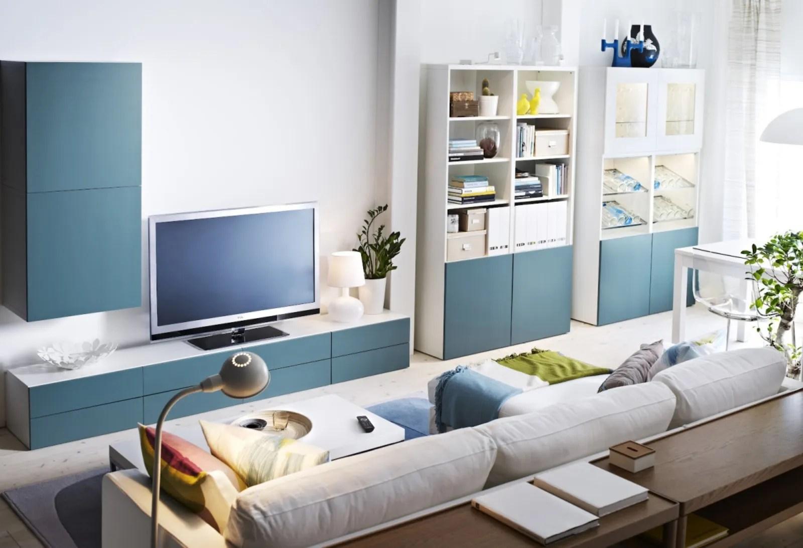 Ikea Besta un nome per mille soluzioni  Mobili Soggiorno