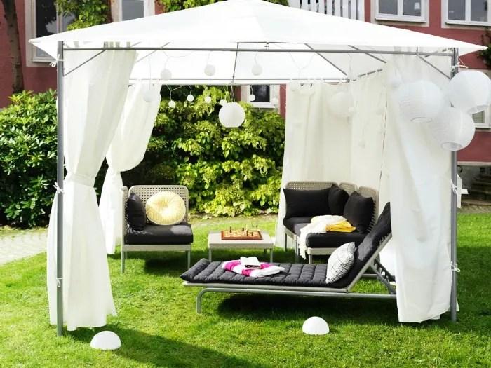 tende da sole, pergole, vetrate, giardini d'inverno. Ikea Gazebo Arreda Il Giardino Con Funzionalita