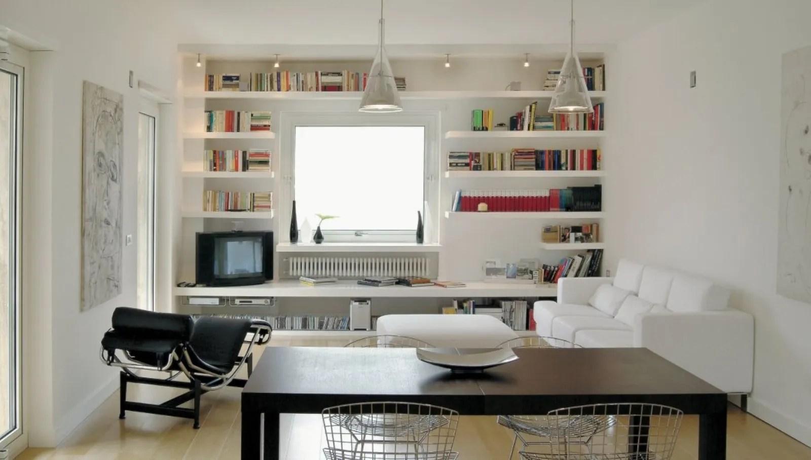 Libreria in cartongesso fai da te con pareti curve. Librerie In Cartongesso Pratiche Ed Economiche