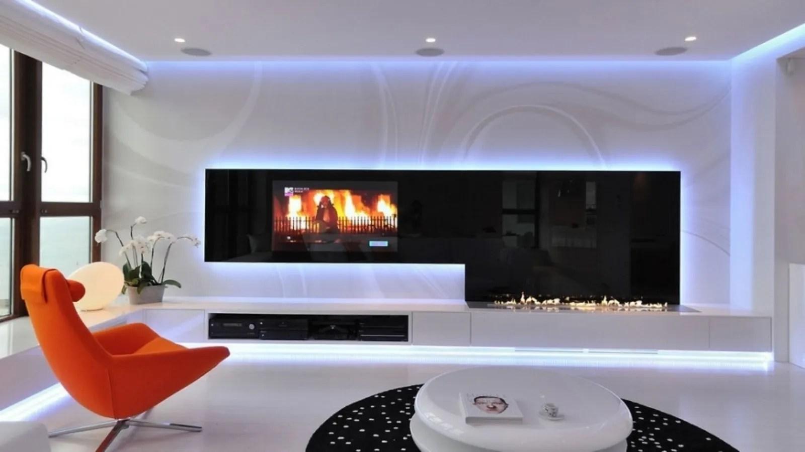 parete attrezzata n con biocamino bianco mobile soggiorno … parete attrezzata con camino e tv: Parete Attrezzata Con Camino Idee E Consigli