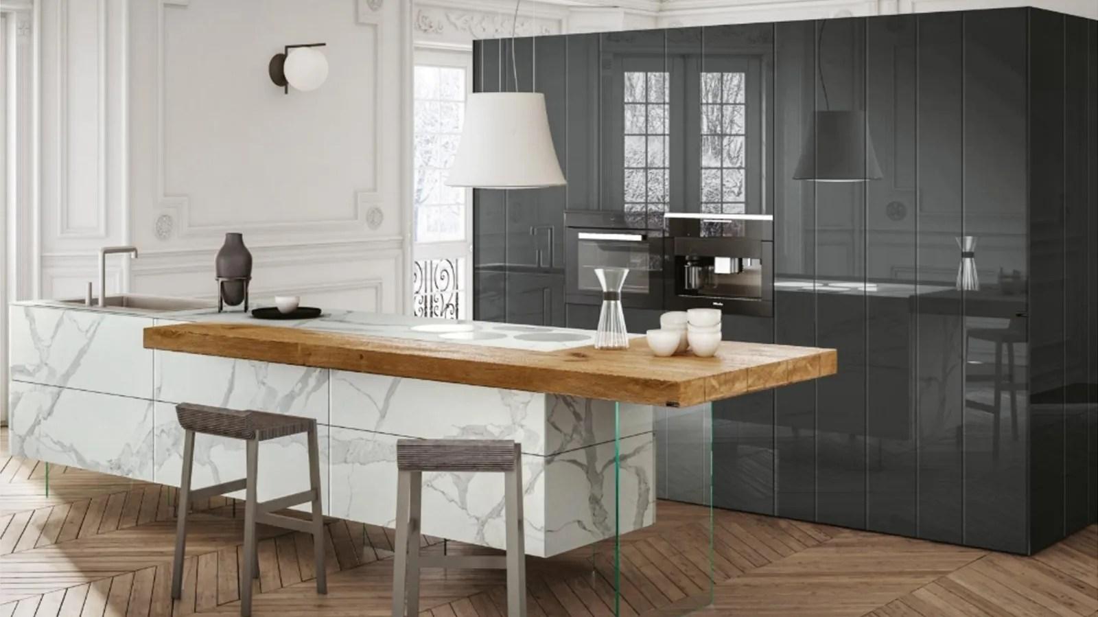 Soggiorno con cucina a vista: Cucina Openspace Arredala Seguendo I Nostri Consigli
