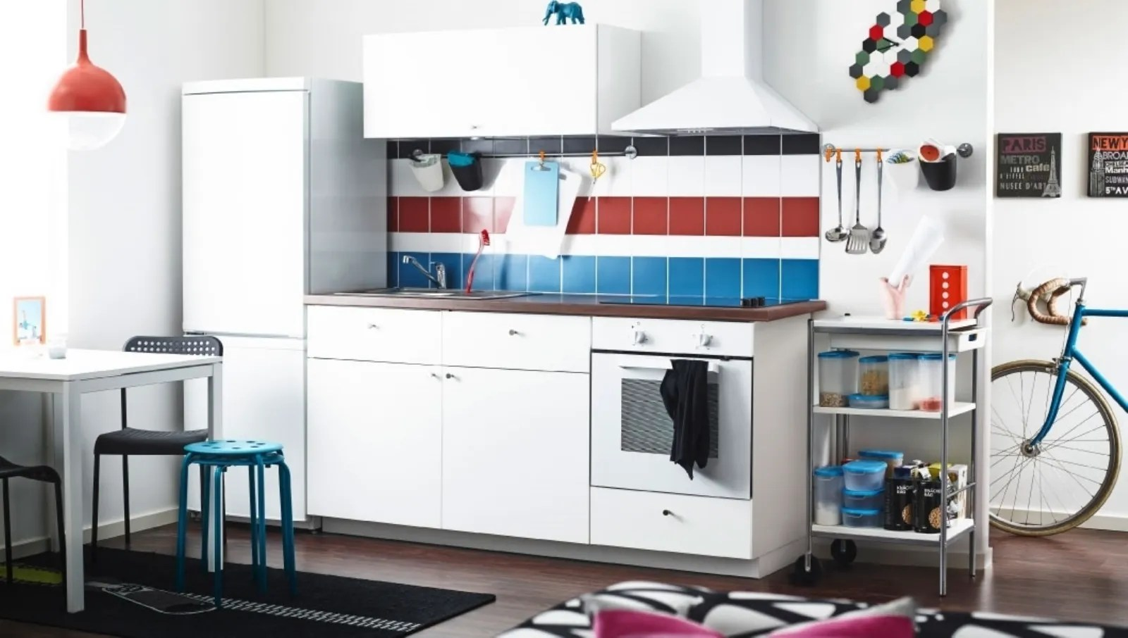 Beautiful Ikea Cucine Free Standing Photos - ubiquitousforeigner ...