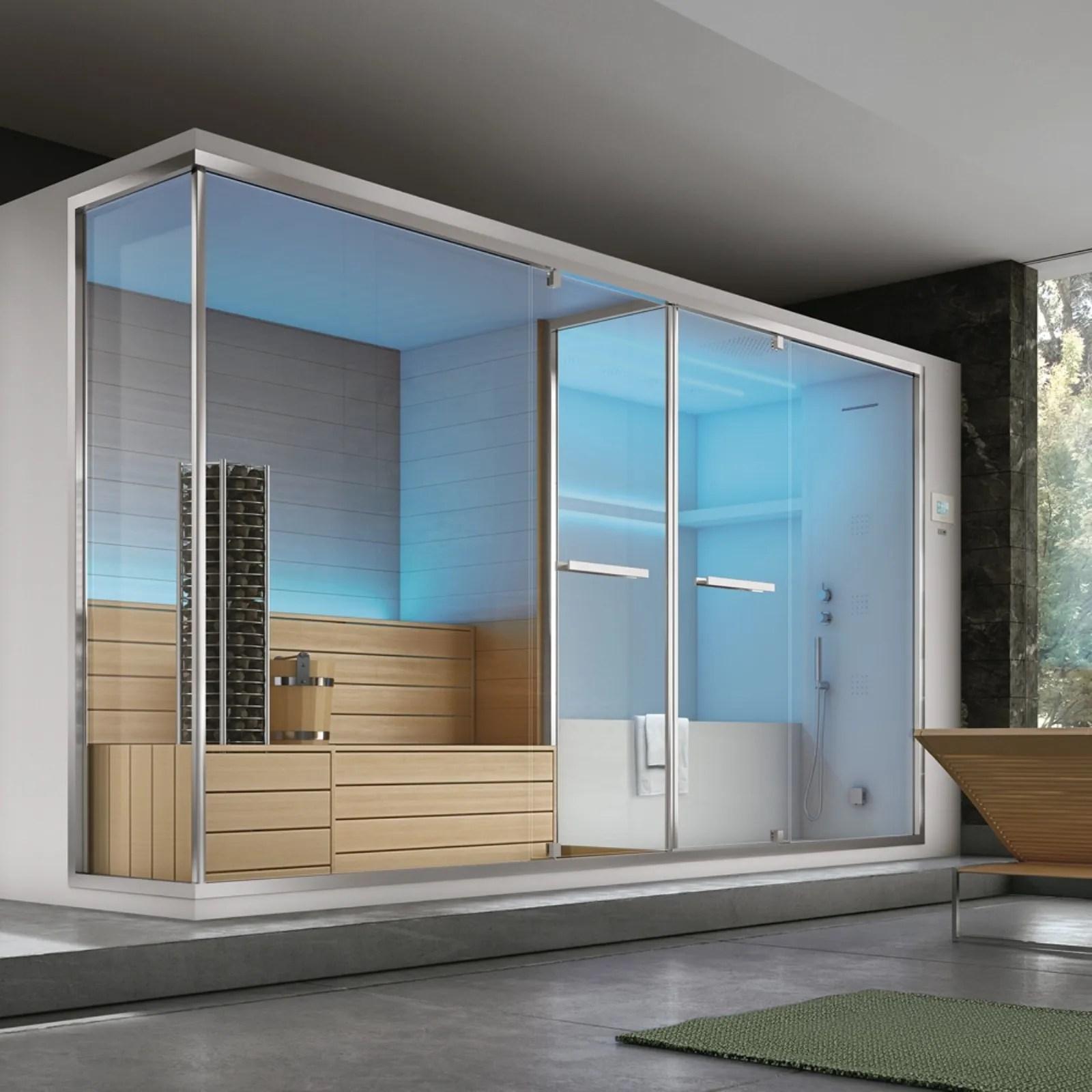 Sauna e bagno a vapore in casa  Wellness