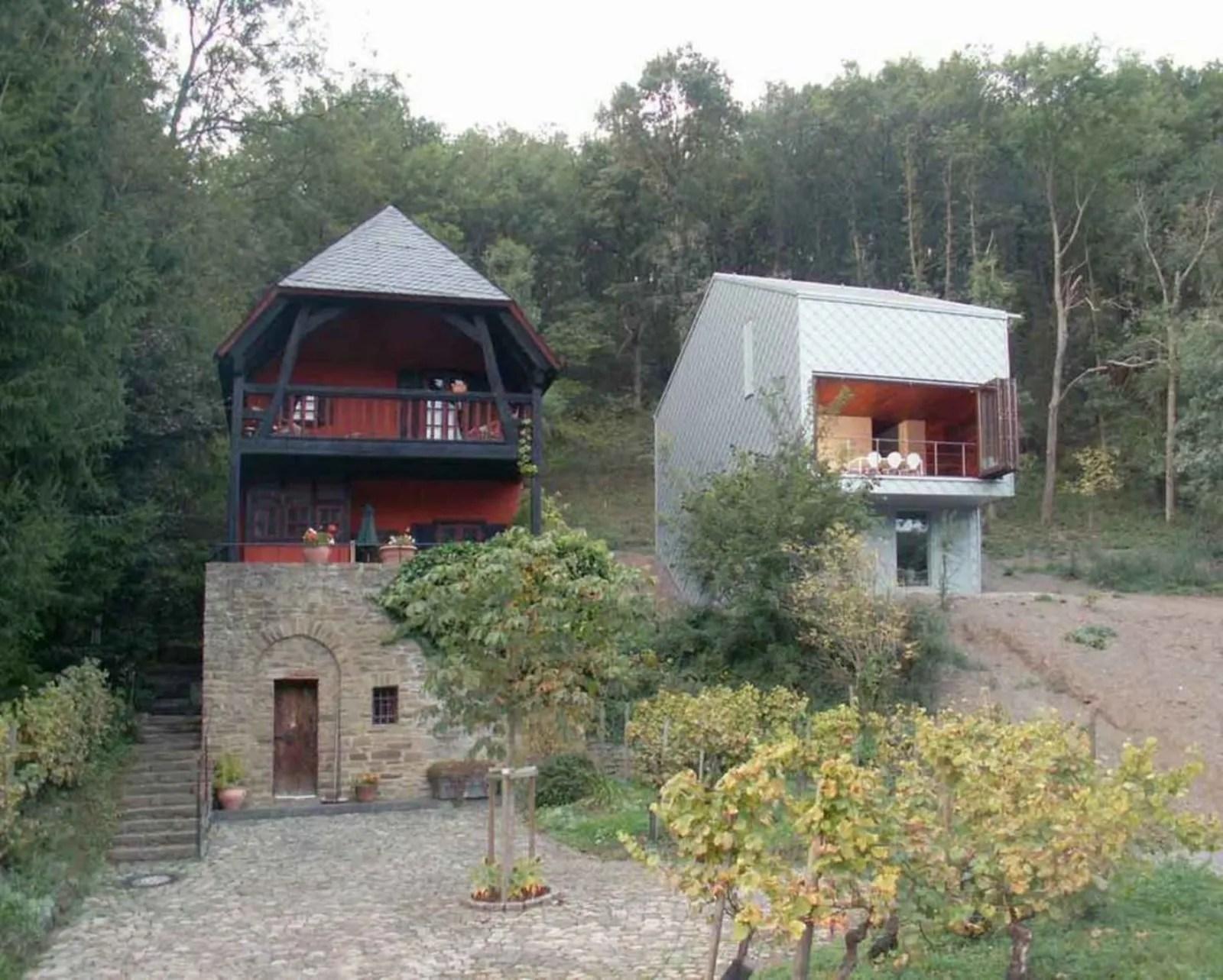 Una casa nel bosco da fiaba  Progettazione Casa