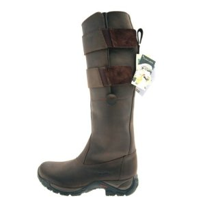 Tuffa, Stivali da equitazione Country Rider, Marrone (Brown), 41