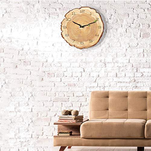 """16""""Orologio Da Parete Decorativo Di Legno Rustico Di Stile Country Rustico Arabo Di Progettazione Di Numero Di Orologio Dell'ora,16Incha [Classe di efficienza energetica A]"""