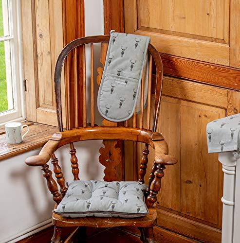 Lords Labradors Sophie Allport Designer Tessuto Sedia Da Pranzo Cuscini Set Di Due Cuscini Per Sedie Da Sala Da Pranzo E Cucina Highland Stag Arredamento Country
