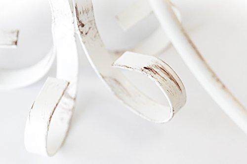 ONLI Pompei  Lampadario 5 luci stile classico ed elegante Struttura in metallo Bianco