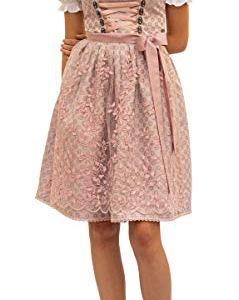 Aphrodite 544GT  Abito Tradizionale Dirndl 2 pz Colore Rosa Antico Rosa Antico 40