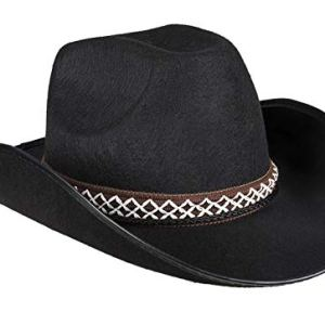 Boland 54369  Cappello da Cowboy per Bambini Colore Nero