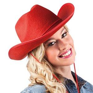 Boland  Feltro Cowboy Cappello Rosso
