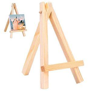 Cavalletto cavalletto da scrivania piccolo in legno espositore per tavola schizzi pittura