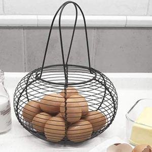 Cestino da uovo stile rurale francese