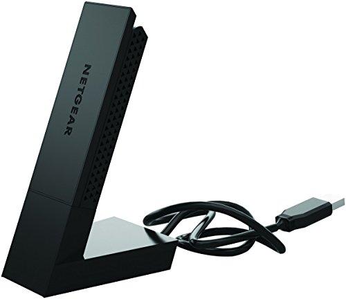 Netgear A6210100PES Adattatore USB 30 con WiFi Push N Connect NeroAntracite