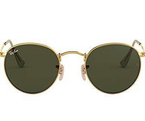 RayBan Rb 3447 Occhiali da Sole UnisexAdulto Oro Verde Classica 53 mm