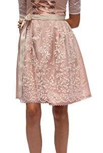 Set Dirndl Horen 2 pezzi Abito tradizionale rosa con fiori 545GT Colore rosa 50
