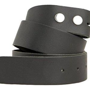 shenky  Cintura senza fibbia  4 cm  made in Germany  vera pelle  nero  girovita 115 cm  lunghezza totale 125 cm