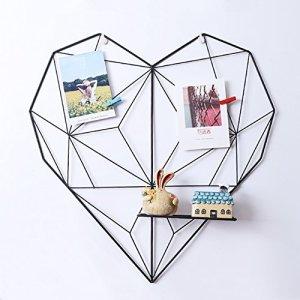 ShouYu DIY  Pannello portafoto da parete a griglia multifunzione decorazione da parete