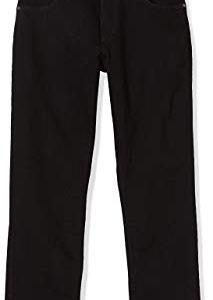 Wrangler Authentic Straight Jeans da Uomo incl Cintura Nero W38L32