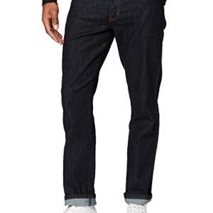 Wrangler Texas Jeans Slim Blu Dark Rinse 90a 30W  34L Uomo