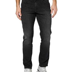 Wrangler Texas Jeans Slim Nero Like A Champ 120 32W  32L Uomo
