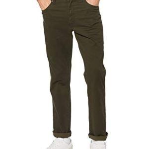 Wrangler Texas Pantaloni Verde Ivy Green Xix 44W  34L Uomo