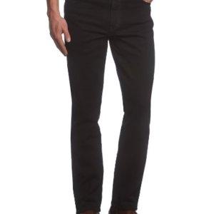 Wrangler TEXAS TONAL Jeans Uomo Nero Black Overdye 004 36W  34L