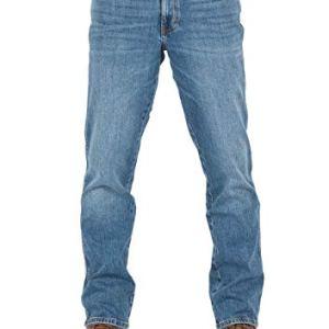 Wrangler W30W44  Jeans da Uomo Texas Stretch Regular Fit Elasticizzati Denim 99 Cotone Blu Blue Whirl W121p311e 31 W32 L