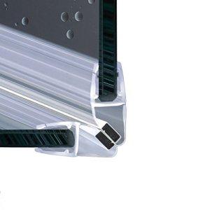 200cm EC214 Angolo 90 Guarnizione magnetica Box Doccia per vetri di spessore da 6 e 8 mm