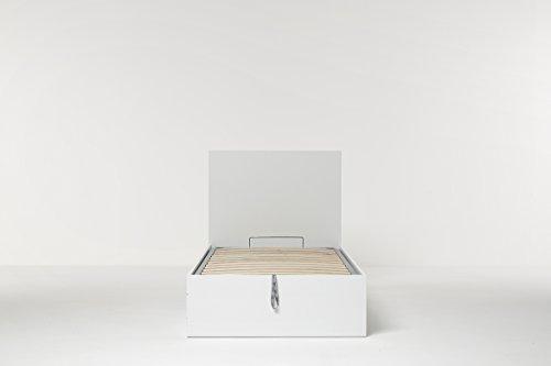 Cang Hi Box Letto Contenitore Bianco 90 x 190 cm